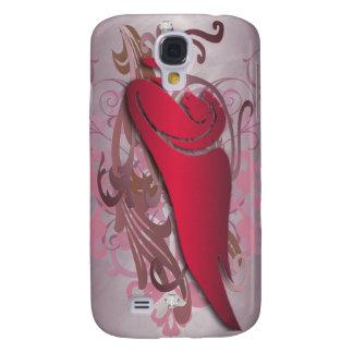 Urban Fantasy Red Jewel Pegasus 3g  Samsung Galaxy S4 Case