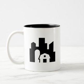 Urban Farm Pictogram Mug