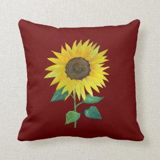 Urban Farm Sunflower Pillow
