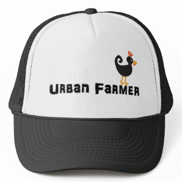 UrbanFarmingGuys Urban Farmer Chicken Hat