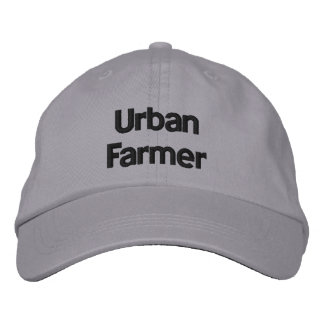 Urban Farmer Personalized Adjustable Hat Embroidered Baseball Caps