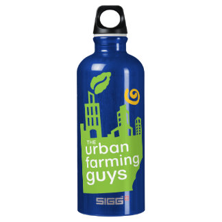Urban Farming Guys Aluminum Water Bottle