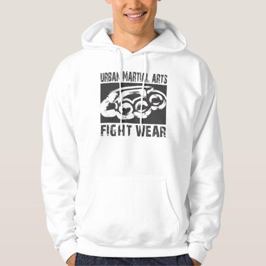Urban Fight Wear BW Hoodie