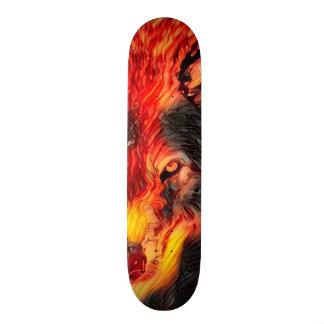 Urban Fire Wolf Way Custom Artisan Pro Board