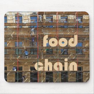urban food chain mouse pad