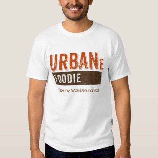 Urban Foodie Brown Logo Shirt