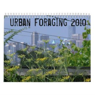 Urban Foraging 2010 Calendar