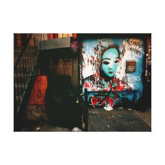Urban Fragments - Street Art - New York City Canvas Print