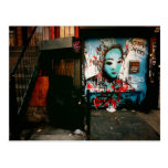 Urban Fragments - Street Art - New York City Post Card