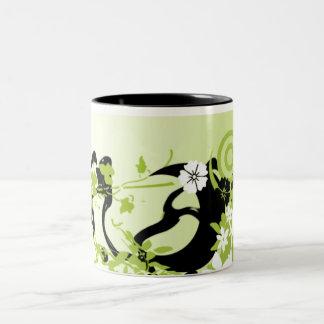 Urban Garden 1 Two-Tone Coffee Mug
