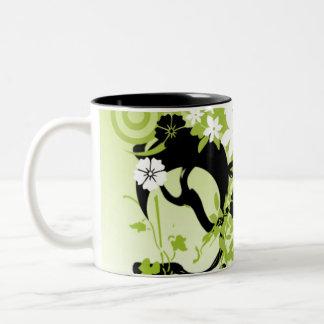 Urban Garden 3 Two-Tone Coffee Mug