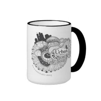 Urban Gardener - It's a Sustainable Thing Ringer Coffee Mug