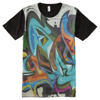 Urban Graffiti Art Shirt
