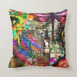 Urban Graffiti Cushion Pillow