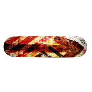 urban graffiti skateboard
