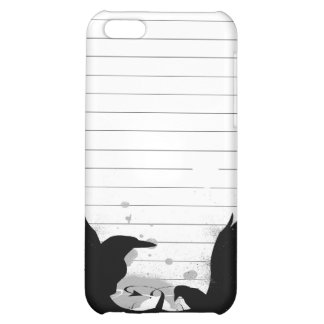 Urban Grafitti Grunge Crows Cover For iPhone 5C