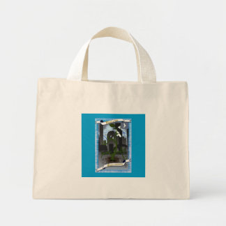 urban green canvas bag