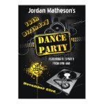 Urban Grunge 16th Birthday Dance Party Invitation