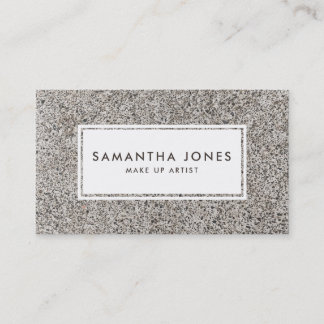 Urban Grunge Concrete Simple Modern Interior Business Card