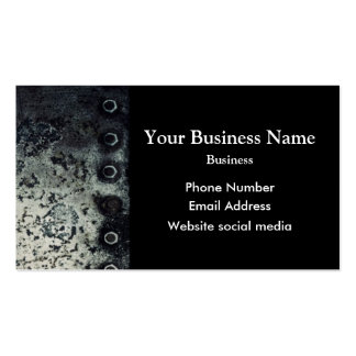 Urban  grunge minimal abstract pattern business card