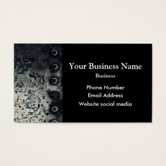 Urban  grunge minimal abstract pattern business card