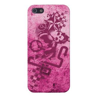 Urban Grunge Pink Case For iPhone SE/5/5s