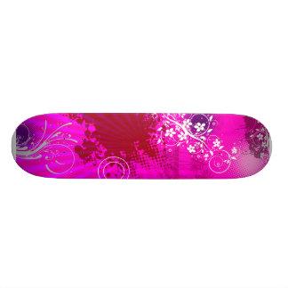 Urban Grunge Pink Skateboard