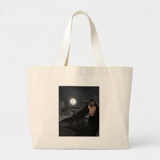 Urban Guardian Angel, Standing Jumbo Tote Bag