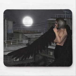 Urban Guardian Angel, Standing Mouse Pad