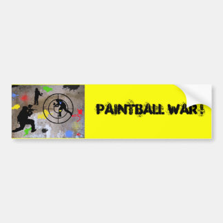Urban Guerilla Paintball Bumper Sticker