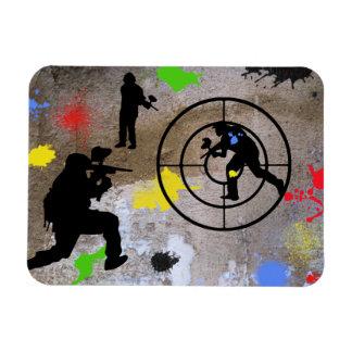 Urban Guerilla Paintball Magnet