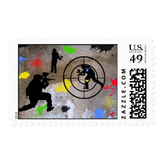 Urban Guerilla Paintball Stamps