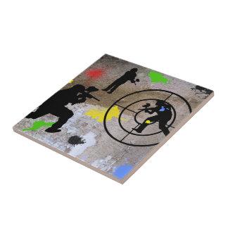 Urban Guerilla Paintball Tiles