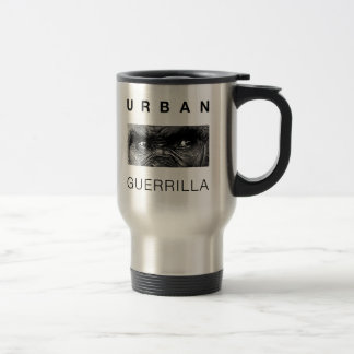 Urban Guerrilla Coffee 15 Oz Stainless Steel Travel Mug