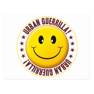 Urban Guerrilla Smiley Postcard