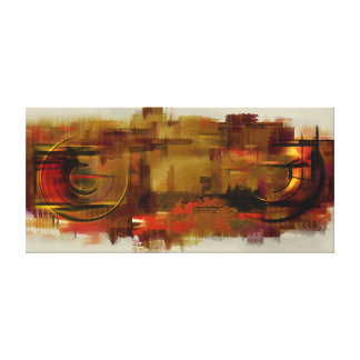 Urban hallucinations on my wall canvas print