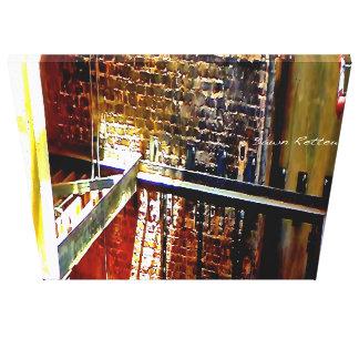 Urban Industrial Canvas Prints
