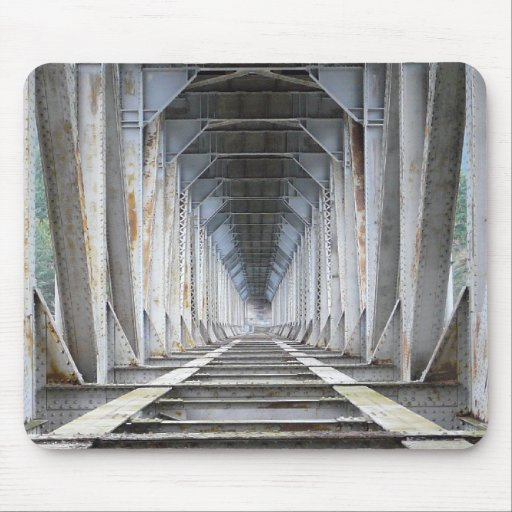 Urban Industrial Vortex Mouse Pads