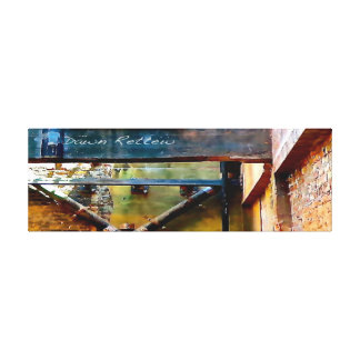 Urban Industrial Wrapped Canvas Wall Art