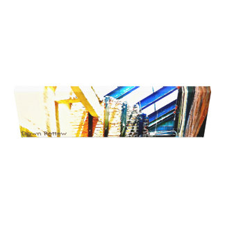 Urban Industrial Wrapped Canvas Wall Art Canvas Prints
