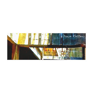 Urban Industrial Wrapped Canvas Wall Art Gallery Wrapped Canvas