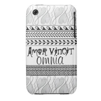 Urban iPhone 3 Case: Love Conquers All iPhone 3 Cover