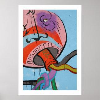 Urban Jellyfish Poster