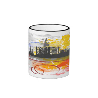 Urban Jungle2 Ringer Mug