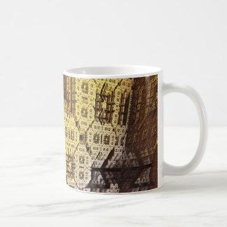 Urban Jungle 3D Fractal Coffee Mug