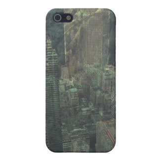 Urban Jungle Grungy Rainforest City Cover For iPhone SE/5/5s
