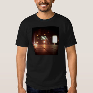 Urban landscape and bus AT night Hasselblad analog Shirts
