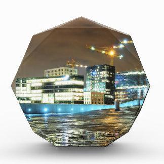 Urban landscape at night in Oslo, Norway Award