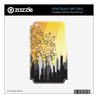 Urban Landscape iPod Touch 4G Skin