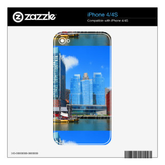 Urban Landscape n Lake Views from Boston City USA Decals For iPhone 4S